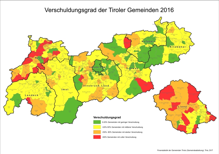 Finanzstatistik des Landes Tirol